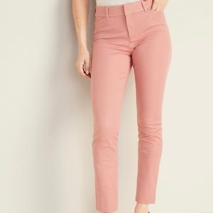 Old Navy Salmon Pink Pixie Ankle Pants